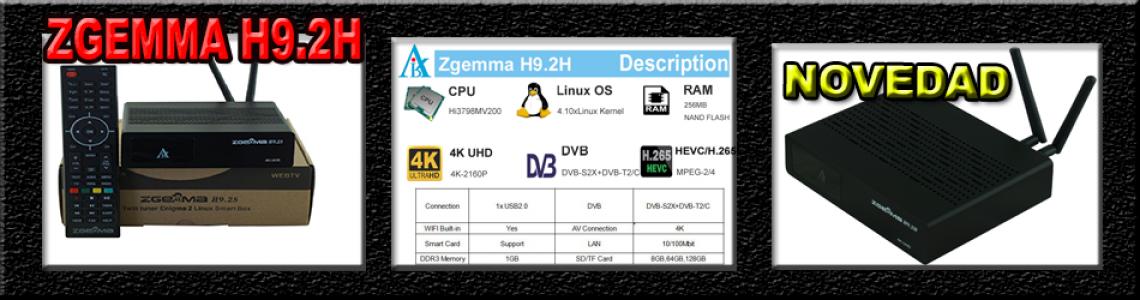 ZGEMMA H9.2H